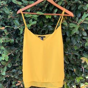 Tops - Forever 21 yellow tank